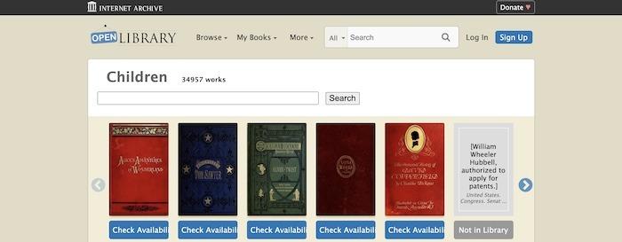 Beste Seiten Kostenlose Kinderbücher Openlibrary
