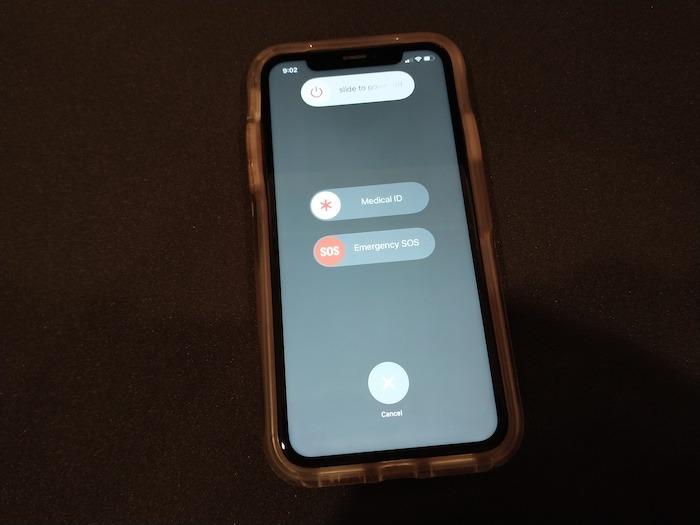 So schalten Sie das iPhone aus Iphone Swipe Off