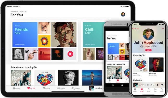 Deaktivieren Sie die Icloud Music Library Apple Music