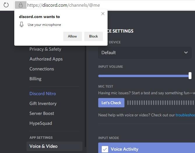Discord Screenshare Mikrofonalarm verwenden