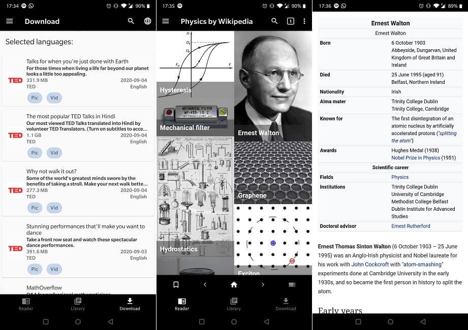 Beste Apps Offline Verwenden Sie Kiwix