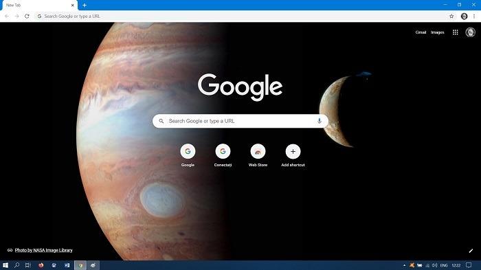So ändern Sie die Hintergrundergebnisse der Google-Suche Chrome Desktop