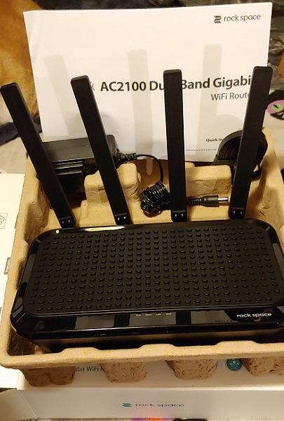 Rock Space Ac2100 WLAN-Router Open Box