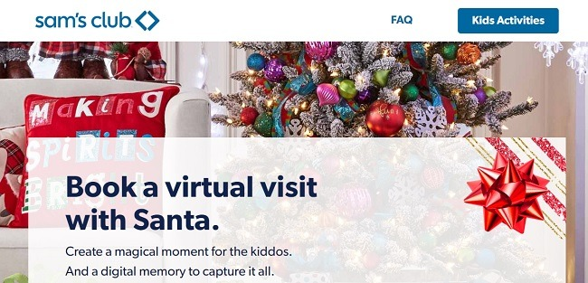Wie Kinder mit dem Santa Sams Club per Video chatten können