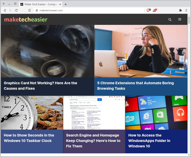 Linux-Browser mutig