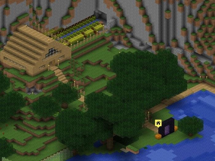 Linux Minecraft Editor Overviewer
