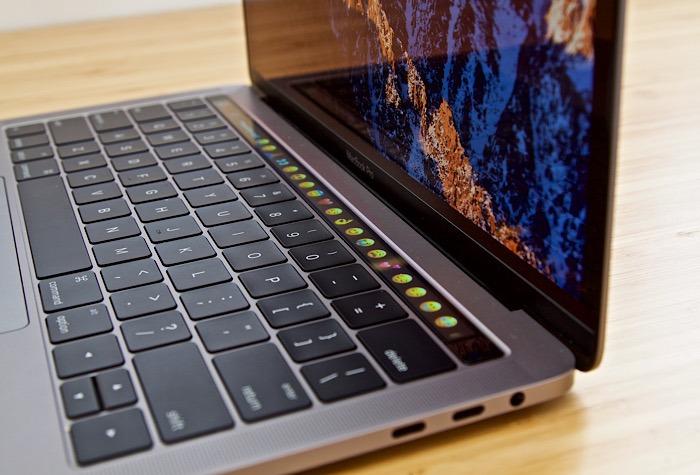 Macbook Pro Touch Bar Funktionstasten