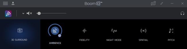 Boom 3D Desktop Review-Effekte