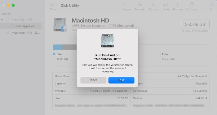 Mac läuft langsam Reparatur reparieren Berechtigungen reparieren