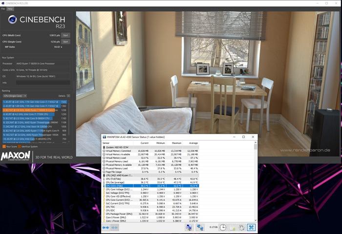 Benchmark-CPU-Cinebench-CPU-Test abgeschlossen 2