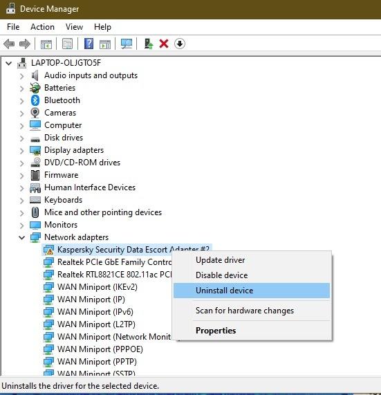 So beheben Sie den Fehler beim Ausführen des Treiberstromzustands unter Windows 10 Deinstallieren