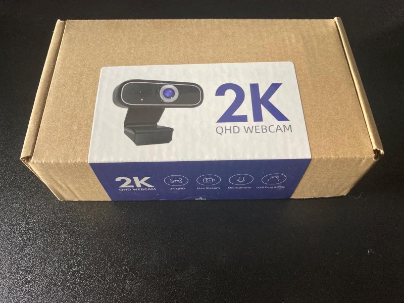 Mosonth 2k Qhd Webcam Review Box