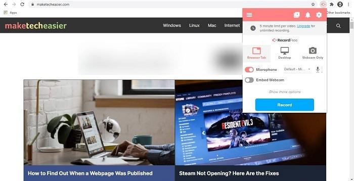 Beste Chrome-Erweiterungen für Studenten Screencastify