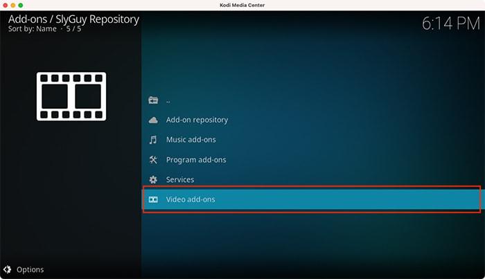 Disney Plus Kodi Zugriff auf das Slyguy-Repository