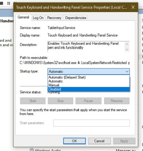 So beheben Sie Ctf Loader-Fehler in Windows 10 Deaktiviert