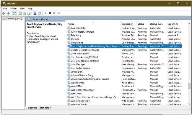So beheben Sie Ctf Loader-Fehler in Windows 10 Touch
