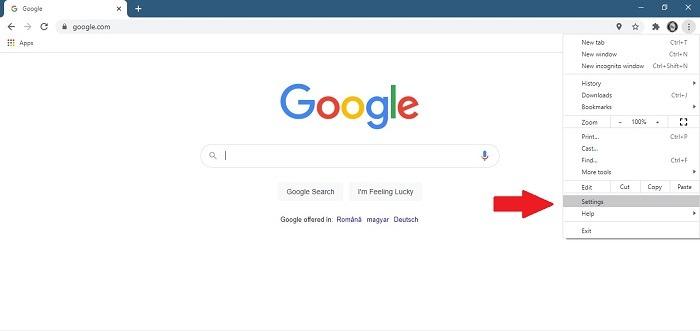 So stoppen Sie die geöffneten Einstellungen für Chrome Notifications Desktop