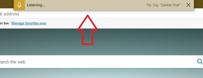 So verwenden Sie die Spracheingabe in der Microsoft Edge-Sprachbox