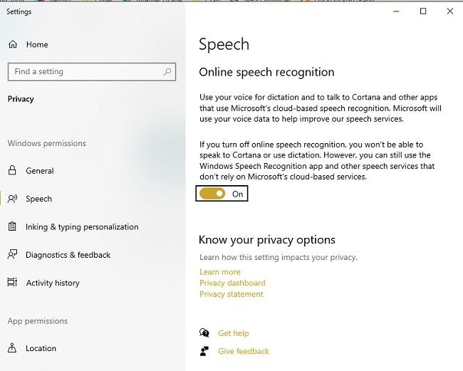 So verwenden Sie die Spracheingabe in Microsoft Edge Speech
