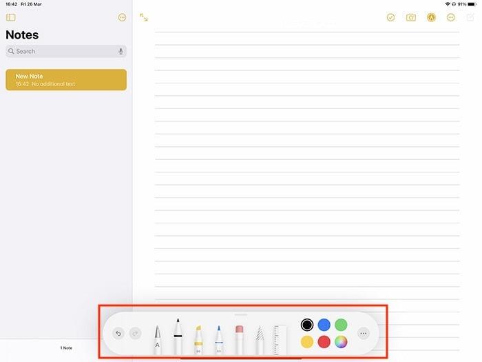 Markup Ipad Annotating Note