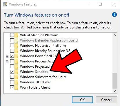 Beste Sandbox-Apps in Windows 10 integriert