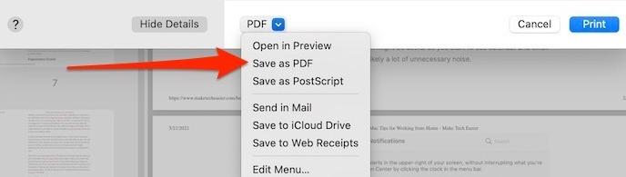 Einzelseiten-PDF extrahieren Als PDF speichern
