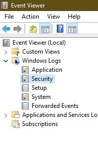 So erkennen Sie, ob sich jemand anderes bei Ihrer Windows-PC-Sicherheit anmeldet