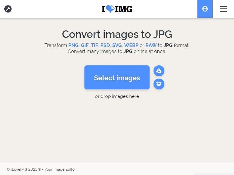 Iloveimg Webp in Jpg konvertieren