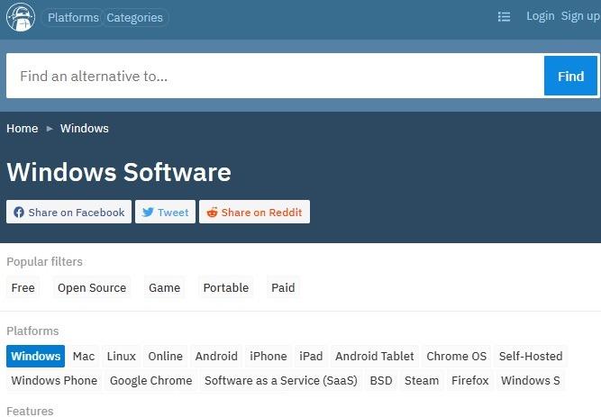 Alternative zu sicheren Download-Sites
