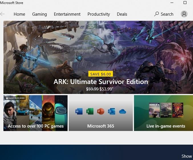 Sichere Download-Sites Microsoft Store