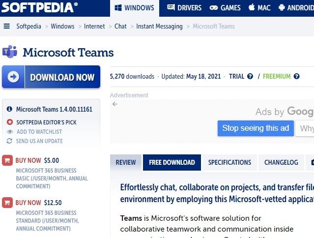 Sichere Download-Sites Softpedia 1