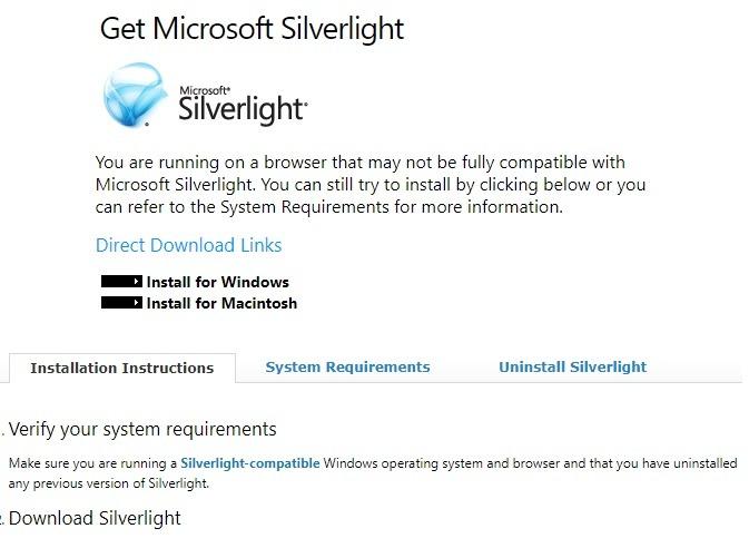 Windows sofort deinstallieren Microsoft Silverlight