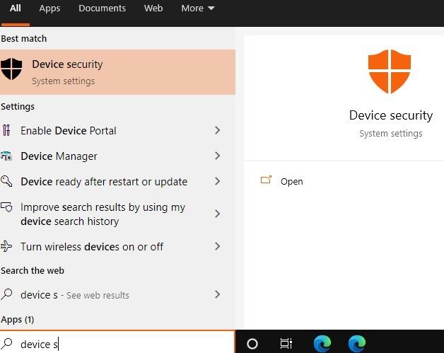 Windows11-Kompatibilität Gerätesicherheit
