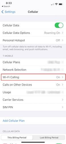 Reparieren Sie Mobilfunkdaten Ios Cellular Wifi