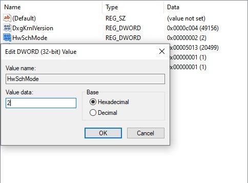 Planung von Hardwarebeschleunigung-Updates 5