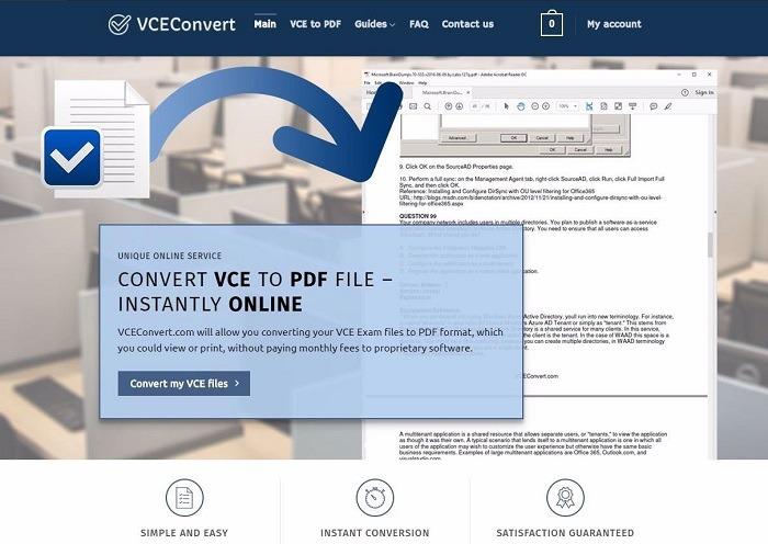 Vceconvert Vce zu Pdf Konverter