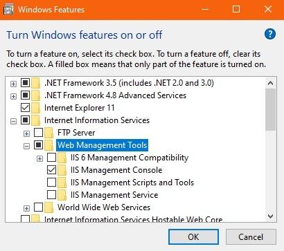 Nginx Windows I ist aktiviert