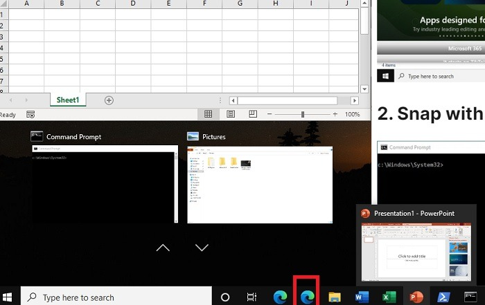 Windows11 Windows-Rechtspfeil einrasten lassen