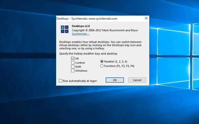 Windows10 Theme Windows7 Transformation Hotkeys Desktops