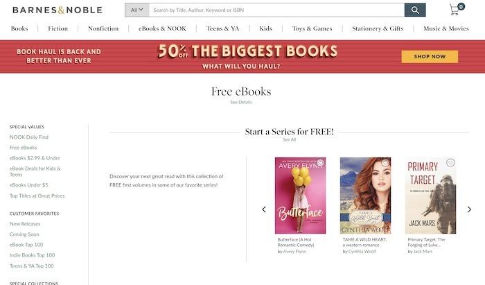 Kostenlose Websites E-Books herunterladen Barnes Noble Adults