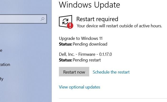 Windows11 Rollback von Windows10 Upgrade auf Win11