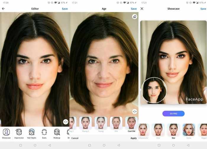 Beste Face-Swapping-Apps Android Faceapp