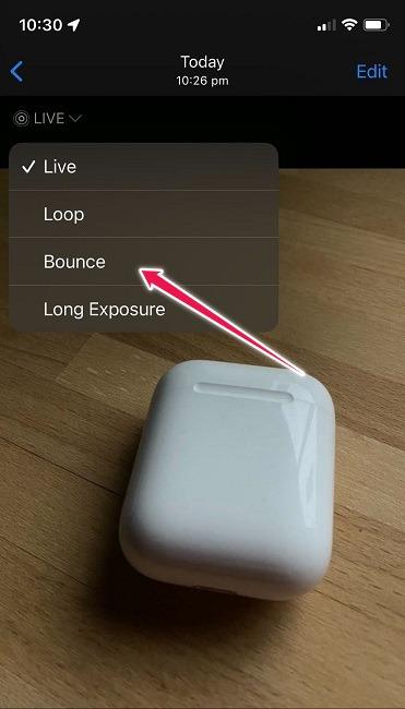 Boomerang-Videos erstellen Native Funktionen von iOS