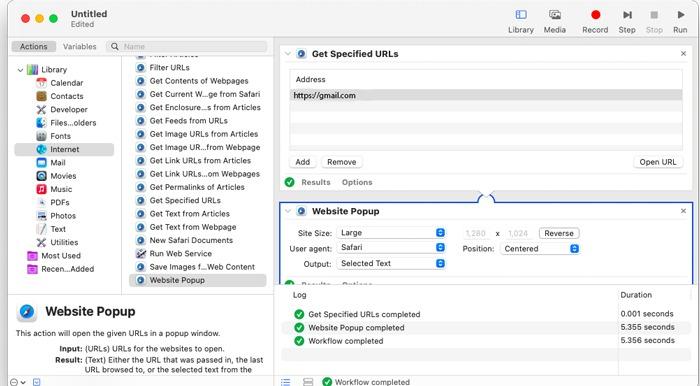 Erstellen Sie eine Gmail-Desktop-App Macos