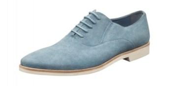 CARLO PAZOLINI shoe blue mesh