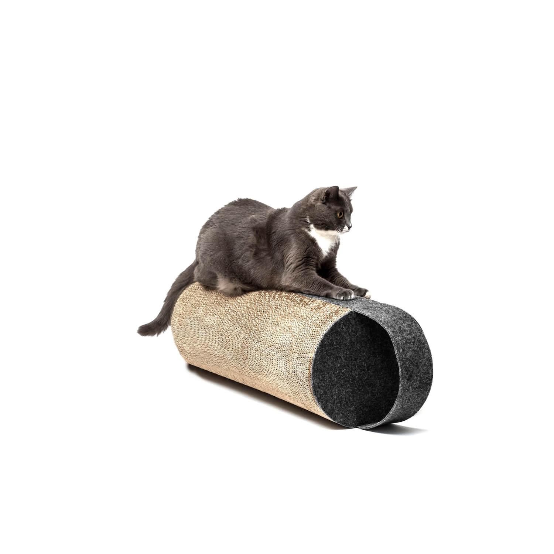 Cardboard cat scratcher dark grey LILA | Make them Roar