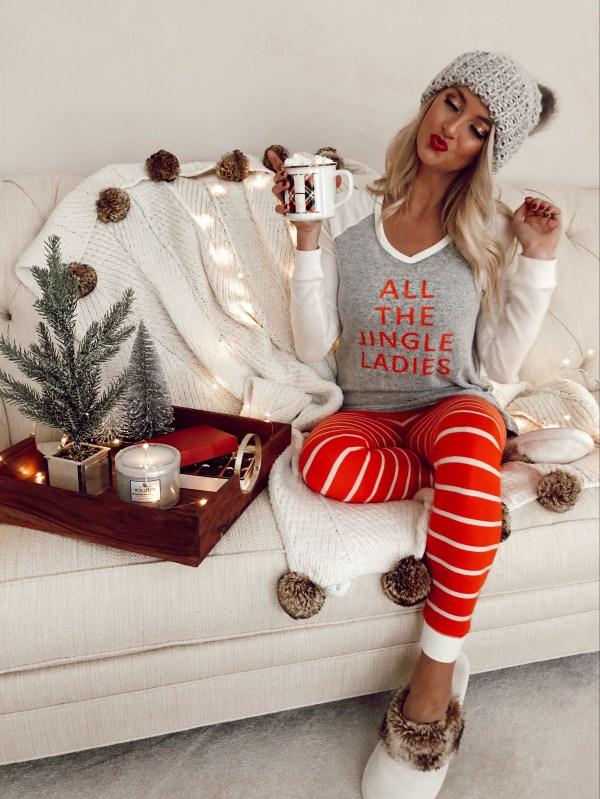 Matching Christmas Pajamas In Family
