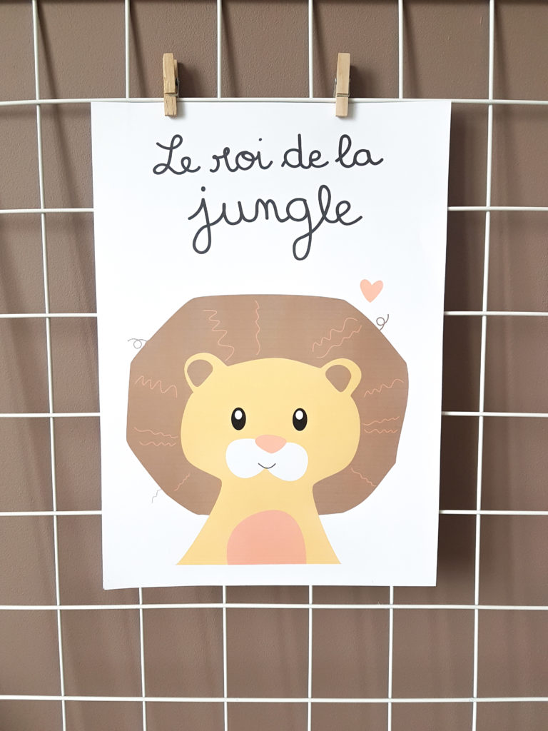 lion-affiches-make-today-magical