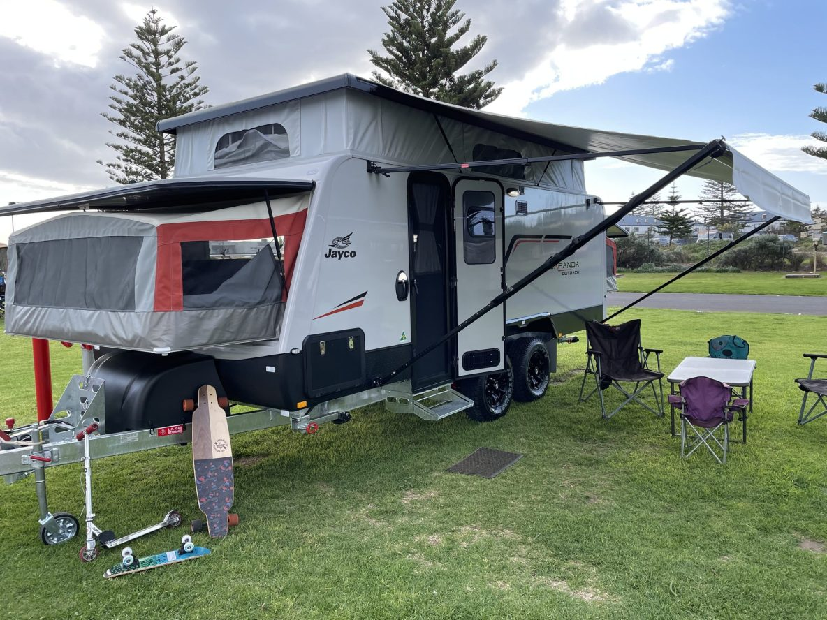 Jayco Expanda fully equipped Caravan