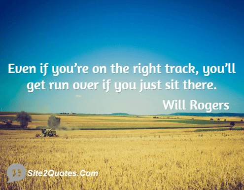 Will Rogers on Work